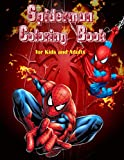 Spiderman Coloring Book for kids and adults: A children's coloring book for 4-8-year-old kids & adults. For home or travel, it contains much High-Quality photo