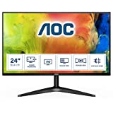 AOC 24B1XHS 23.8' LCD Monitor withHDMI/VGA Port, Full HD, Wall Mountable, 3 Side Borderless