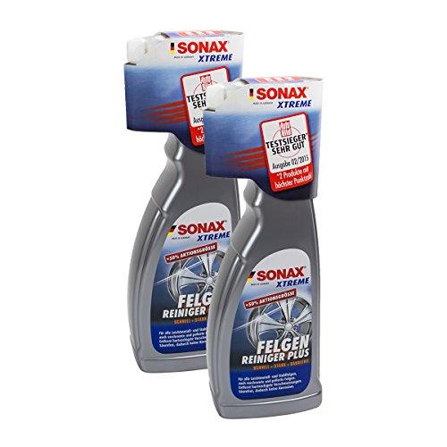 SONAX 2X 02304000 Xtreme FelgenReiniger Plus Säurefrei 750ml