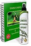 Leivys DMSO Spray con Beifuss, extracto de Artemisia dimetilsulfóxido 99,9%, aplicación cómoda, efecto efectivo (250 ml), con manual en PDF (idioma español no garantizado).