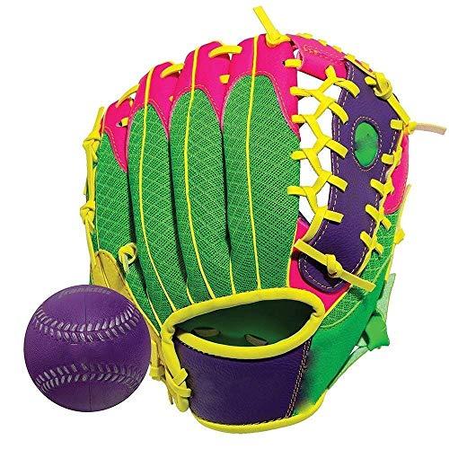 YDXYZ Softball Baseball Catcher Glove Kinder Softball Handschuhe Left Hand Throw Erwachsene Jugend Kinder Anfänger können auch verwenden (Color : Multi-coloredA)