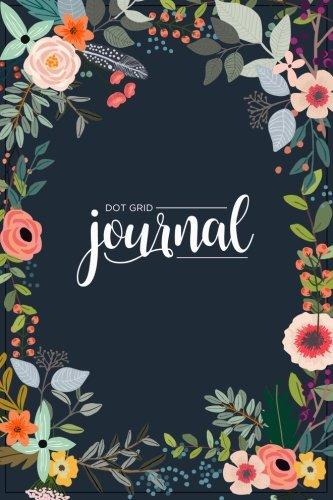 Dot Grid Journal: A Dotted Matrix Notebook And Planner: Bullet Dot Grid Journal And Sketch Book Diary For Calligraphy