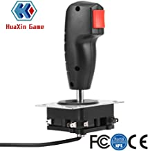 8 Way Flight Joystick with Trigger & Top Fire Button For Arcade game