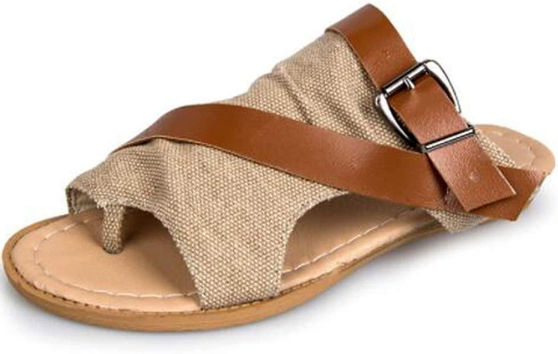 Hysxm Seali Piatti Estivi da Donna Pantofole da Spiaggia per Esterni Pantofole da Casa per Interni Pantofole da Donna Sautope Infradito A3