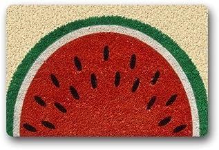 ZMvise Rubber Cute Watermelon Door Mat Rectangle Entryways Non Slip Floor Mat Doormat 18 x 30 inch