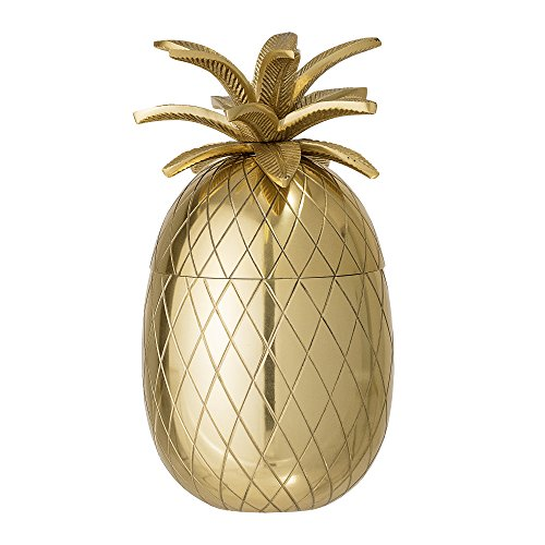 Bloomingville Dose Ananas, gold