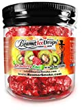 Strawberry Kiwi 250G Ultra Premium Beamer Ice Drops Hookah Shisha Smoking Gel. Each Bowl Lasts 2-4 Hours! USA Made, Huge Clouds, Amazing Taste! Better Taste & Clouds Than Tobacco!