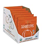 Dried Apricots - All Natural Organic Soft Dried Turkish Apricots - Vegan and Gluten-Free - 6oz Each (Pack of 6)