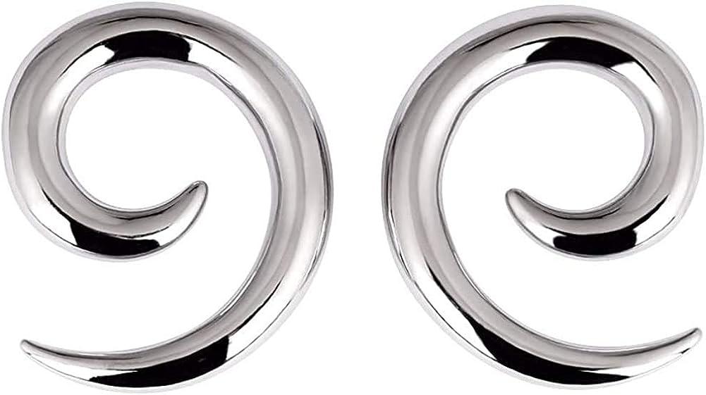 Oyaface Glass Ear Tapers Plugs 2G-16mm Handmade Hanger Gauges Piercing Jewelry Set