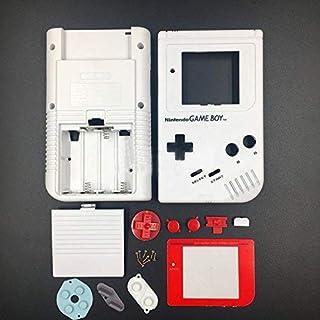 Coque de Rechange pour Console Nintendo Gameboy Classic 1989 Go DMG-01 Blanc et Rouge