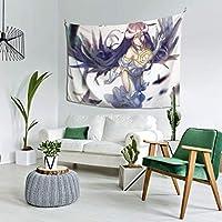 自然風景 オーバーロード アルベド1 多機能 タペストリー インテリア 壁掛け おしゃれ 室内装飾タペストリー カバー カーテン ウォールアート 布ポスター カーテン カスタマイズ可能