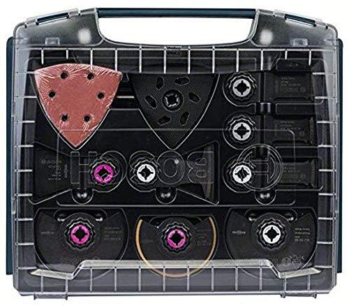 Bosch Professional 34tlg. Innenausbau-Set für Multifunktionswerkzeuge Starlock (i-BOXX)