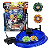 taufa Villa Bey-Blades Battle Game Set 6D Fusion Model Set with Ripcord Launcher battling Toys for...