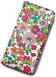 iPhone6sケース iPhone7ケース iPhone8ケース 手帳型 リバティ エミリー(ラスベリー) コーティング SHOKO MIYAMOTO かわいい おしゃれ マグネット無しでカード安全 スマホケース アイフォンケース Liberty…