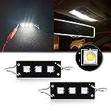 2pcs CREE Rigid TWISTED Loop Festoon LED Bulbs Car Interior Lights 1.73' 44mm 43mm 561