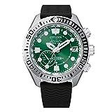 [シチズン] 腕時計 プロマスター エコ・ドライブGPS衛星電波時計 MARINEシリーズ ダイバー200M トリップアドバイザーコラボモデル CC5001-00W メンズ ブラック
