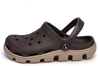 FDSVCSXV Zapatos de jardín de Sandalias para Hombre, Zapatos Antideslizantes de Aguas al Aire Libre con Ducha de Playa San...
