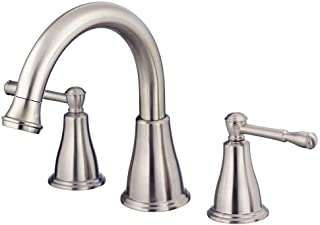 Danze D300915BNT Eastham Two Handle Roman Tub Trim Kit, Brushed Nickel, Valve Not Inlcuded