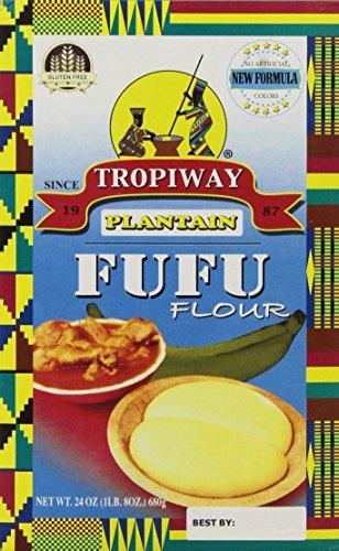 Plantain Fufu Flour 24oz