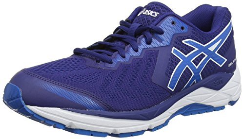 ASICS Herren Gel-Foundation 13 (2E) Running Shoe, Blau Blue Print Race Blue 400, 46.5 EU
