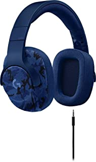 Logitech G 433 7.1 Auriculares de Diadema con Cable para Juegos con Auriculares DTS X7.1 Surround para PC, PS4, Pro, Xbox One, S, Nintendo Switch – Camo Blue