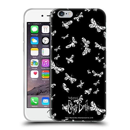 Head Case Designs Licenciado Oficialmente Corpse Bride Polilla Arte Clave Carcasa de Gel de Silicona Compatible con Apple iPhone 6 / iPhone 6s