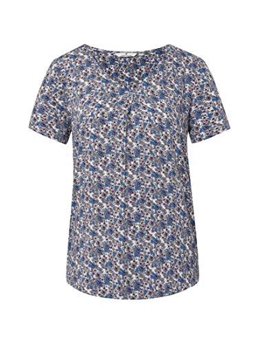TOM TAILOR Damen Blusen, Shirts & Hemden Gemusterte Bluse White millefleur,44