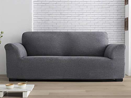 Lanovenanube - Funda sofá Milos - Full Adapt - 5 plazas - Color Gris C10