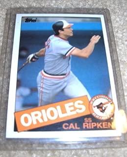 1985 topps cal ripken