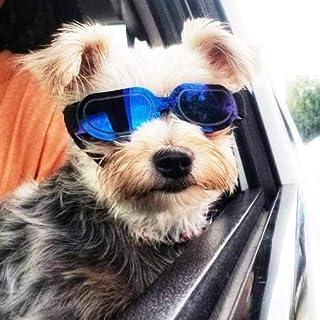 2cadb007a5 Homesupplier Gafas de sol para perros y mascotas, impermeables, resistentes  al viento, protección