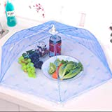 Generic Food Tent breathable fine nylon mesh Kitchen cooking Tools meal cover Hexagon