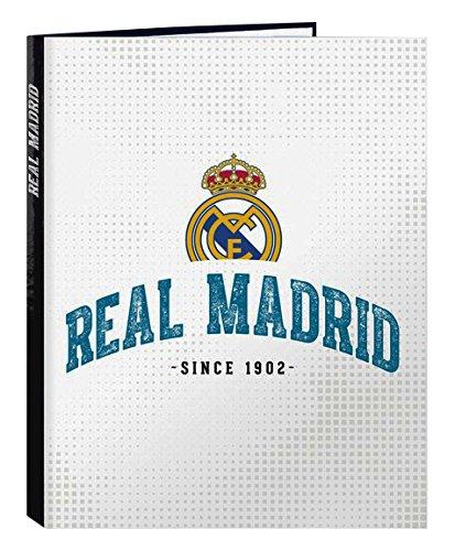 Safta sf-511754 – 067 - Ordner Folio 4 anillas Mixtas, shirt 2017/2018, Design Real Madrid