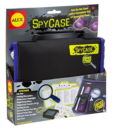 Alex Undercover Spy Case Detective Gear...