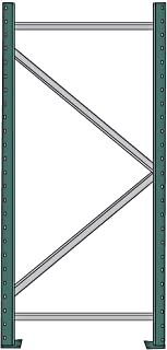 Interlake Interrack-30 Pallet Rack Upright Frame - 42X216