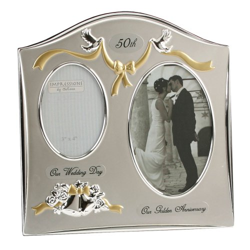 Juliana Silver Plated Wedding Anniversary Photo Frame