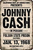 HONGXIN Johnny Cash in Person Folsom State Prison 1968