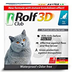 ✅3D PROTECTION FOR YOUR PET – Effective against fleas, larvae, ticks, and mosquitoes. This flea collar for cats was designed to be HELPFUL both for small-medium sized pets and large pets ✅8 MONTHS BEST PROTECTION – Some brands design flea and tick co...