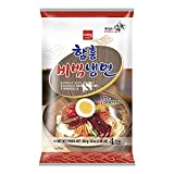 Wang Korean Cold Noodles Naeng Myeon 624g (22oz) Serving 4, 냉면 (Cold Noodle in Spicy Sauce 비빔냉면)