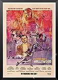 maohelaoshu Nueva Película Kraft Poster Érase Una Vez En Hollywood Art Prints Vintage Wall Decor Pictures Quentin Tarantino Poster A3344 50X70Cm Sin Marcos