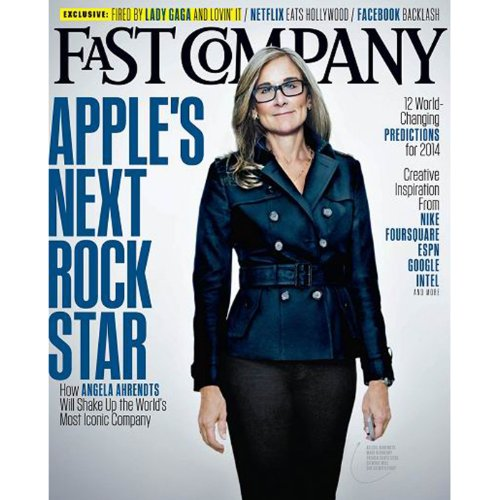 Audible Fast Company, February 2014 audiobook cover art