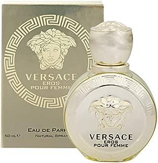 Věrsacě Eros Pour Femme For Women Eau de Parfum Spray 1.7 OZ. / 50 ml