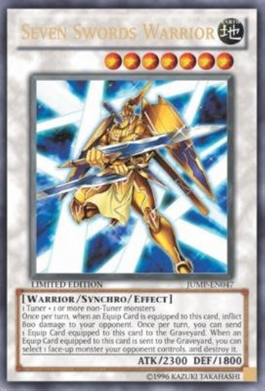Yu-Gi-Oh  - Seven Swords Warrior (JUMP-EN047) - Shonen Jump Promo - Promo Edi...