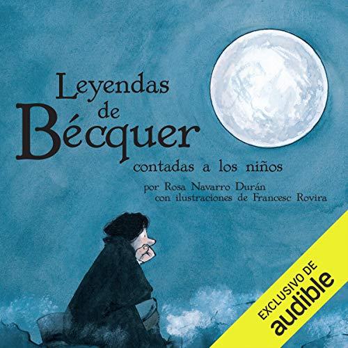 Diseño de la portada del título Las Leyendas De Bécquer Contada A Los Niños