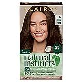 Clairol Natural Instincts Semi-Permanent Hair Color, 5 Medium Brown, 1...