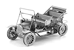 Image: Fascinations Metal Earth 1908 Ford Model T 3D Metal Model Kit