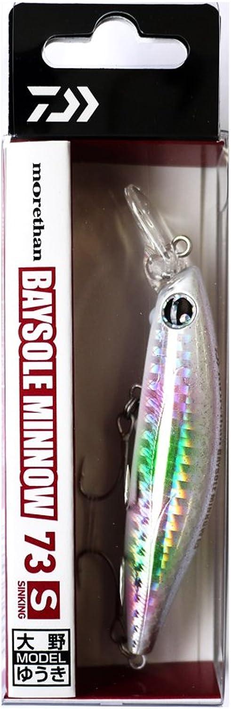 Daiwa (Daiwa) minnow sea bass More Than bay sole lure 73S White Knight lure