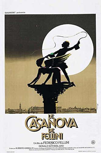 Fellini's Casanova POSTER Movie (27 x 40 Inches - 69cm x 102cm) (1976) (German Style A)