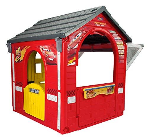 Cars 3 20365 Disney-Pixar Garaje Cars, Color Rojo y Negro (INJUSA