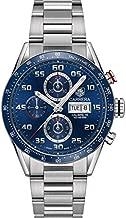 TAG Heuer Carrera Calibre 16 Automatic Chronograph Blue Dial Men's Watch CV2A1V.BA0738