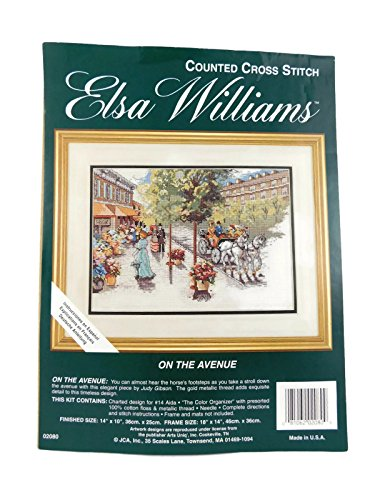 Elsa Williams Counted Cross Stitch On The Avenue